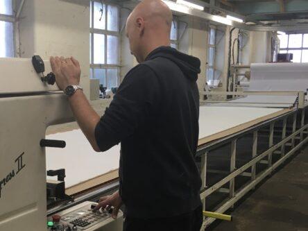 CNC Lectra Cutting Machine