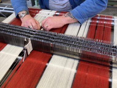 Warping Interior fabrics