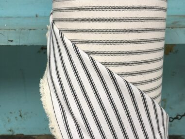 Stripey Ticking Fabric
